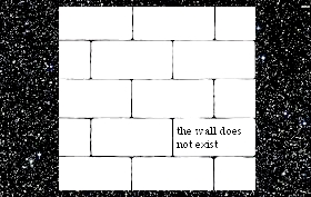 wall in the universe